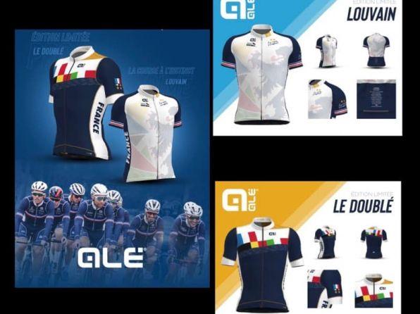 Suite au doublé de Julian, ALE propose 2 maillots en série limitée.  Le maillot …